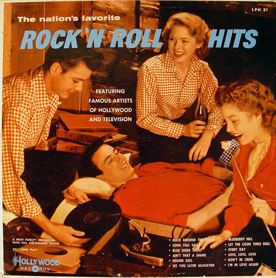 """Rock 'N Roll Hits Vinyl 12"""" (Used)"""