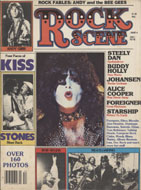 Rock Scene Magazine December 1978 Magazine