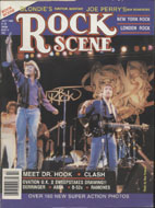 Rock Scene Magazine July 1980 Magazine