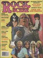 Rock Scene Magazine March 1979 Magazine