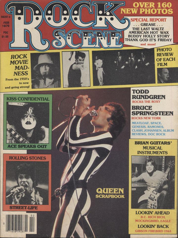 Rock Scene Vol. 7 No. 1