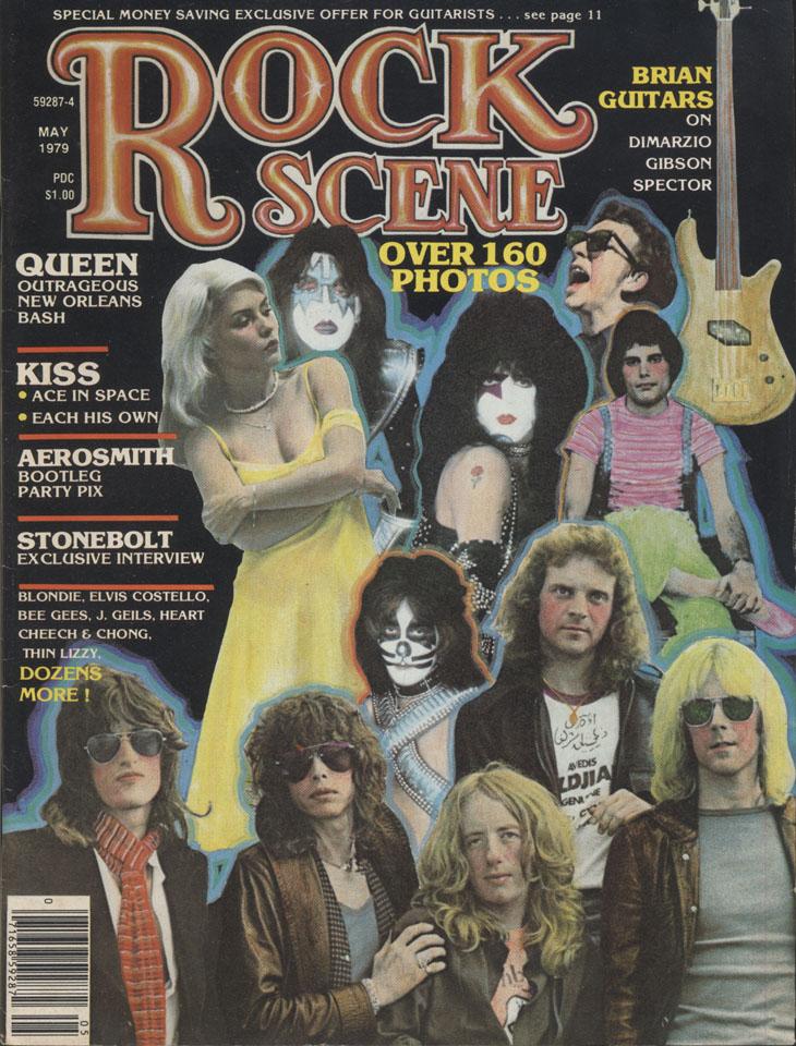 Rock Scene Vol. 7 No. 3