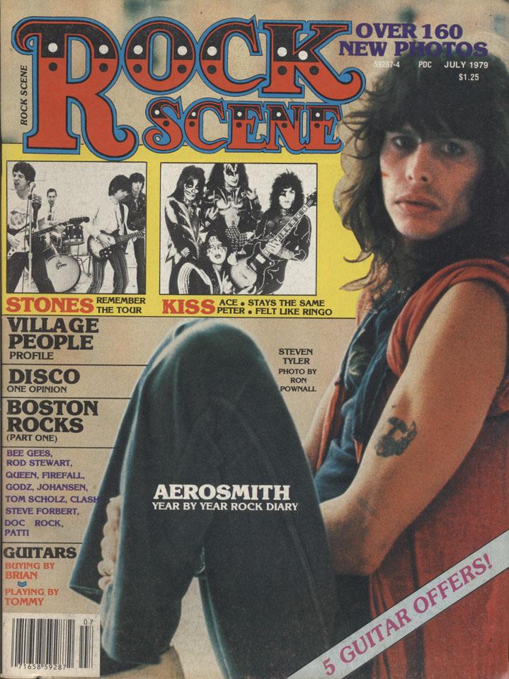 Rock Scene Vol. 7 No. 4