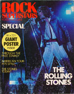 Rock Superstars Poster Magazine