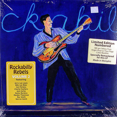 "Rockabilly Rebels Volume 2 Vinyl 12"" (New)"