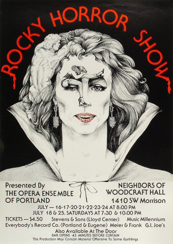 Rocky Horror Show Poster