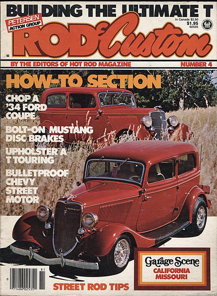 Rod & Custom No. 4 Magazine, 1978 at Wolfgang\'s