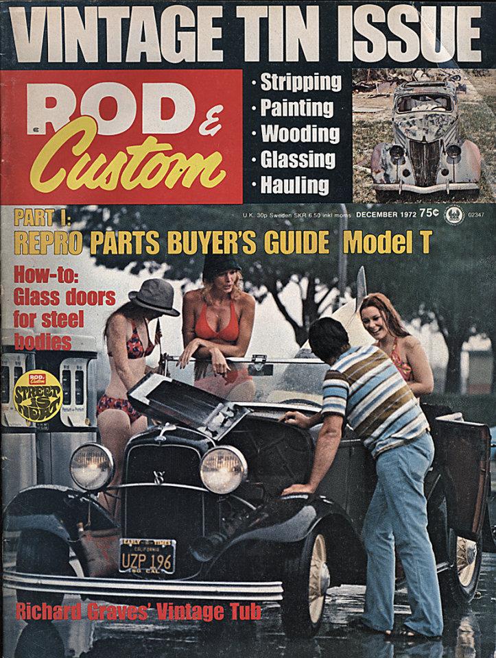 Rod & Custom Vol. 19 No. 12 Magazine, Dec 1, 1972 at Wolfgang\'s