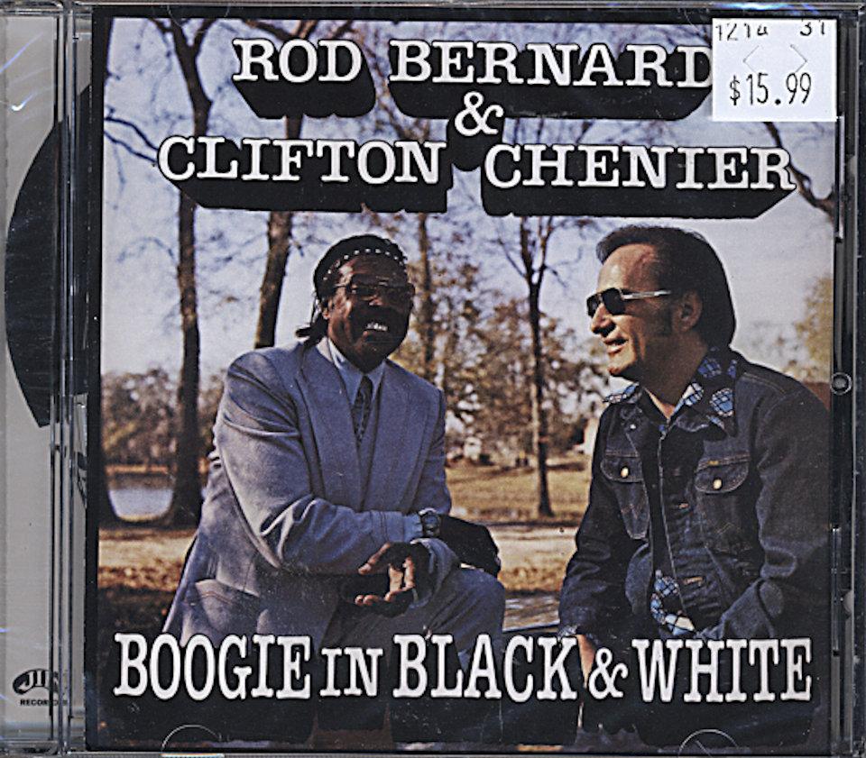 Rod Bernard & Clifton Chenier CD