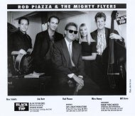 Rod Piazza & the Mighty Flyers Promo Print