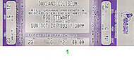 Rod Stewart Vintage Ticket