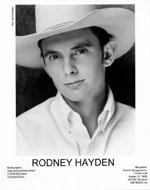 Rodney Hayden Promo Print