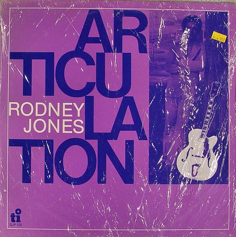 "Rodney Jones Vinyl 12"" (New)"