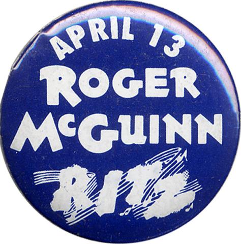 Roger McGuinn Pin