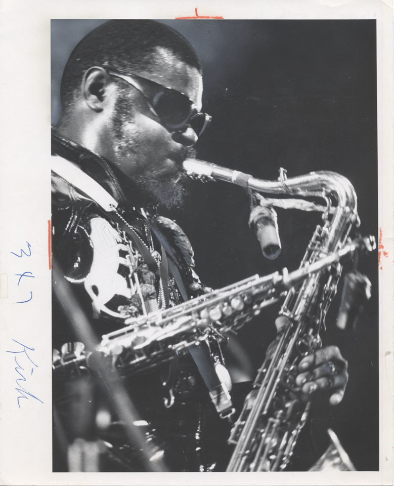Roland Kirk Vintage Print