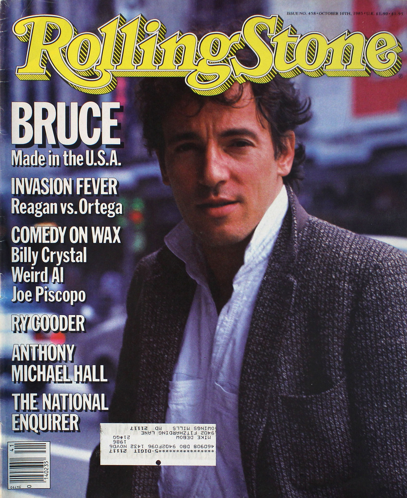 Rolling Stone Issue 458