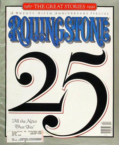 Rolling Stone Issue 632 Magazine