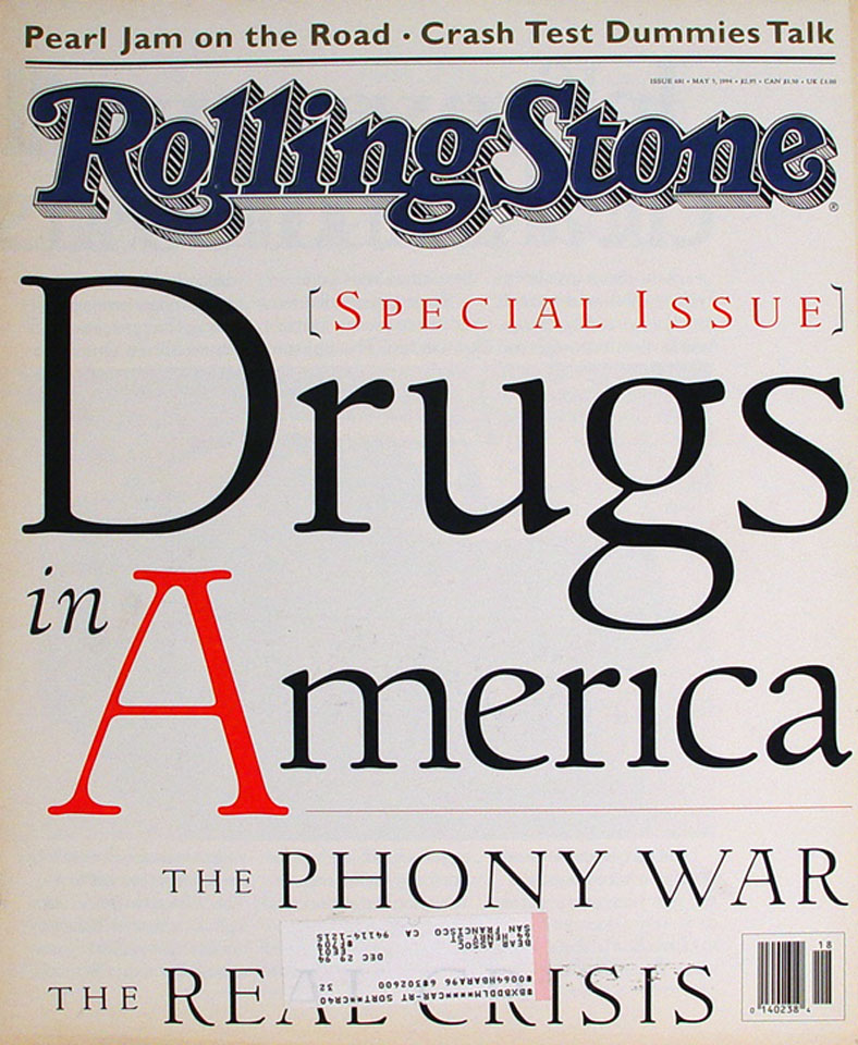 Rolling Stone Issue 681 Magazine