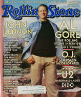 Rolling Stone Issue 853 Magazine