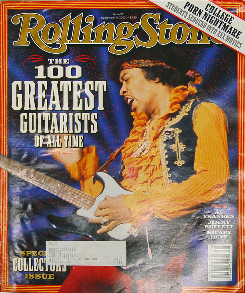 Rolling Stone Issue 931 Magazine