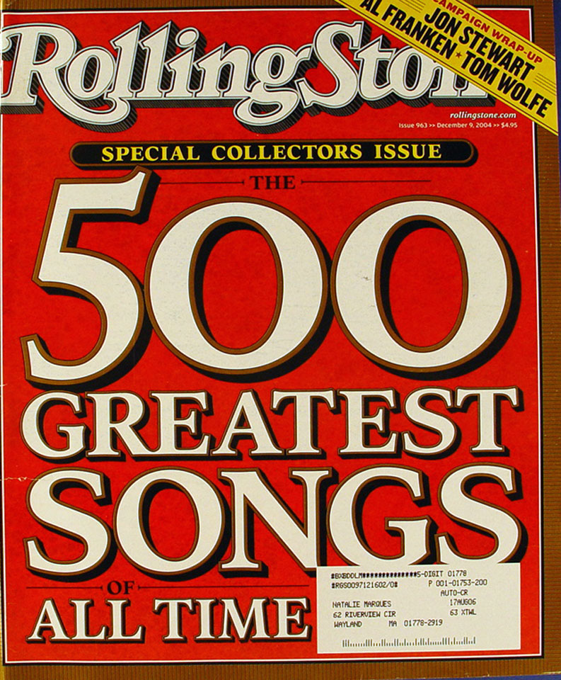 Rolling Stone Issue 963