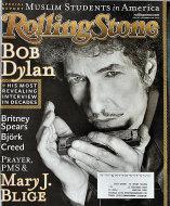 Rolling Stone Magazine November 22, 2001 Magazine
