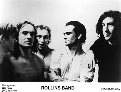 Rollins Band Promo Print