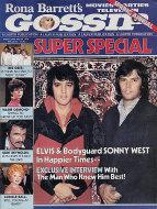 Rona Barrett's Gossip Vol. 1 No. 8 Magazine