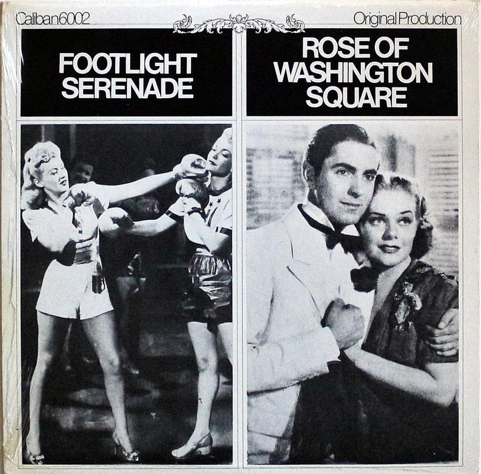 """Rose Of Washington Square / Footlight Serenade Vinyl 12"""" (New) reverse side"""