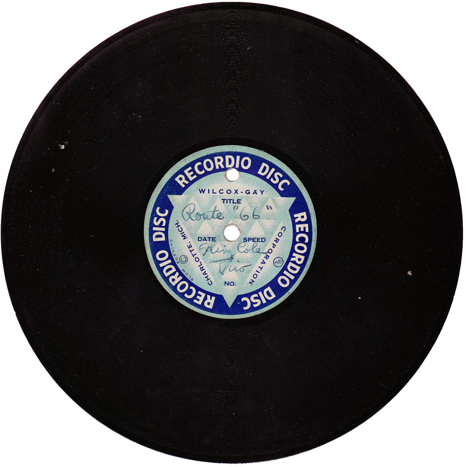 Route 66 / Exactly Like You Homemade Vinyl