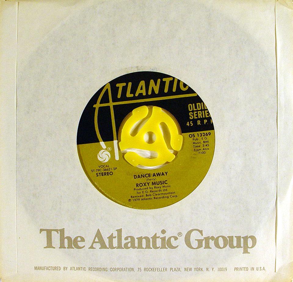 "Roxy Music Vinyl 7"" (Used)"