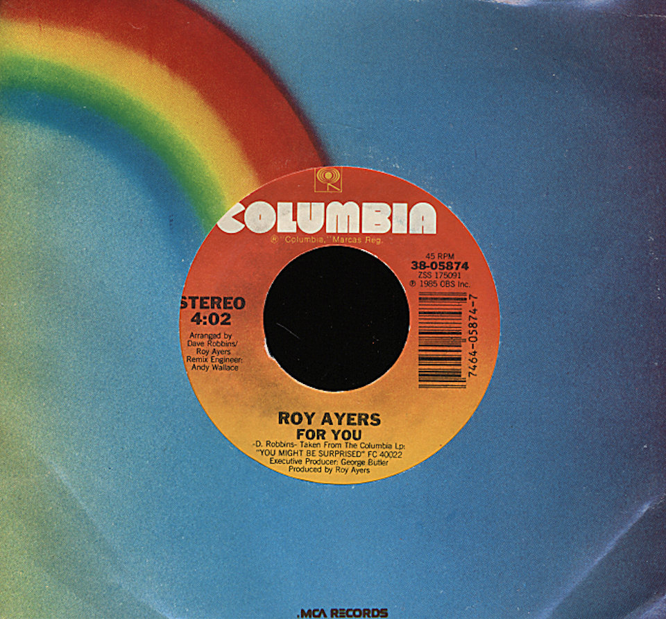 "Roy Ayers Vinyl 7"" (Used)"