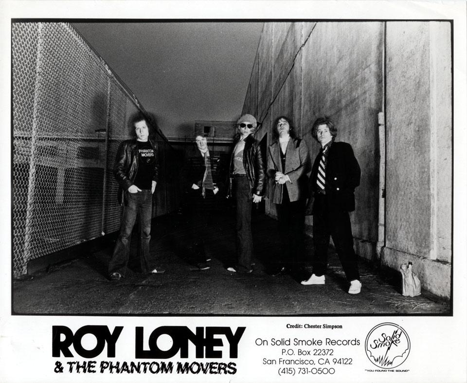 Roy Loney & the Phantom Movers Promo Print