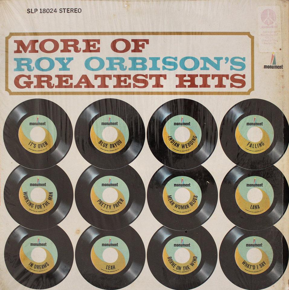 "Roy Orbison Vinyl 12"" (Used)"