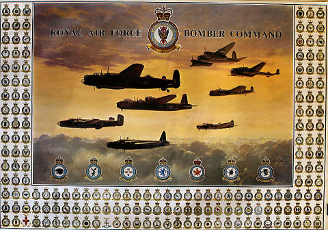 Royal Air Force Bomber Command Poster