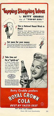 Royal Crown Cola Vintage Ad