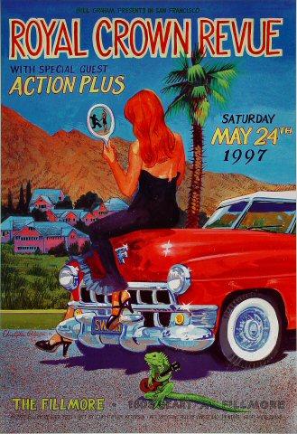 Royal Crown Revue Poster