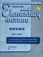 Rubank Elementary Method: Drums Magazine