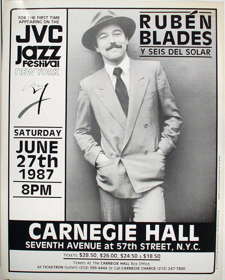 Ruben Blades Poster