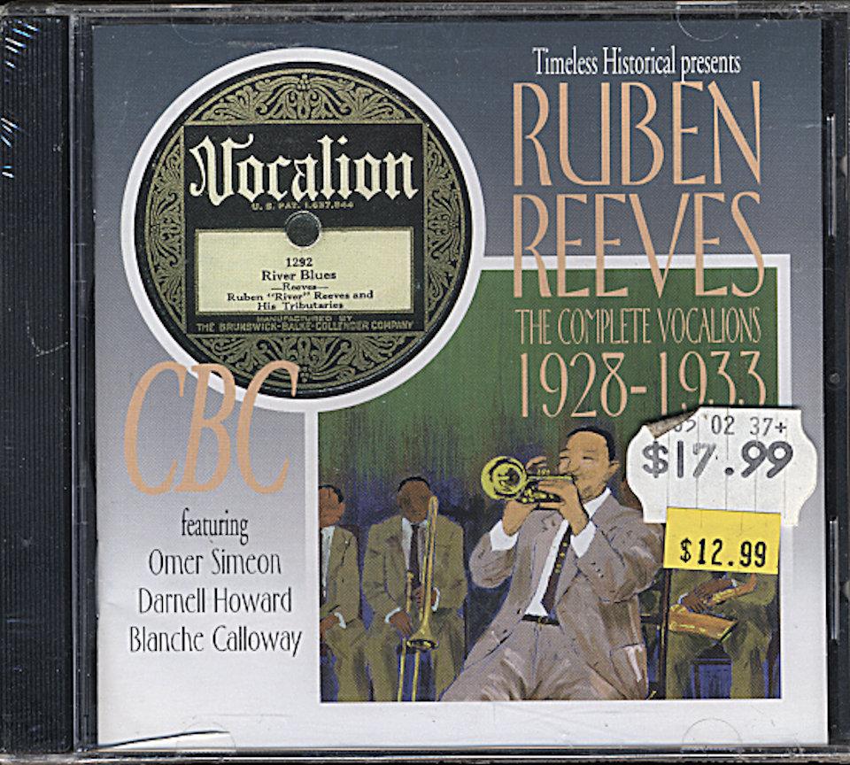Ruben Reeves CD