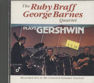 Ruby Braff / George Barnes Quartet CD