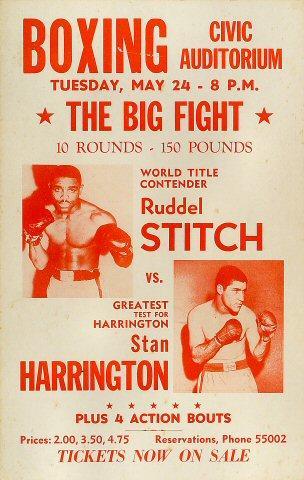 Ruddel Stitch Poster
