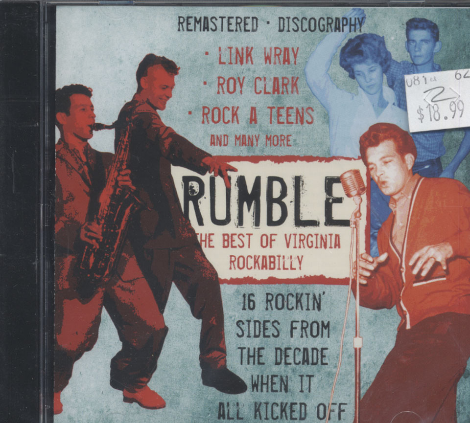 Rumble: The Best of Virginia Rockabilly CD