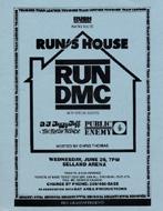 Run-D.M.C. Handbill