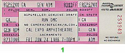 Run-D.M.C. Vintage Ticket