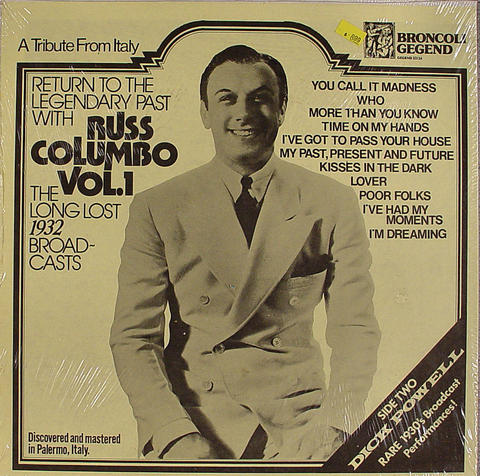 "Russ Columbo Vinyl 12"" (New)"
