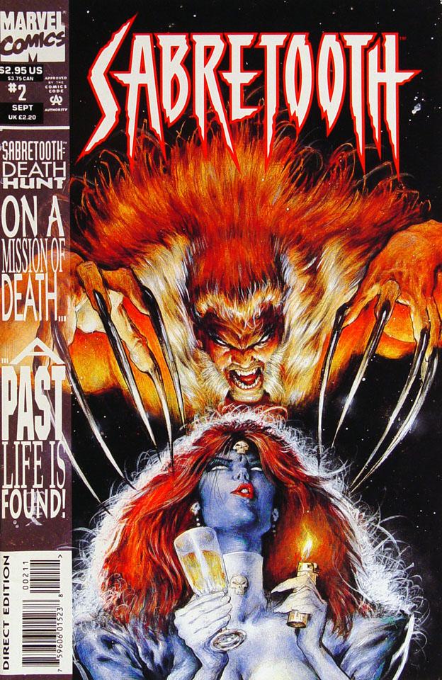 Sabretooth: Death Hunt Comic Book