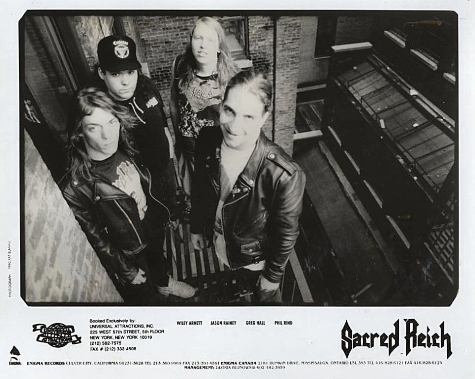 Sacred Reich Promo Print