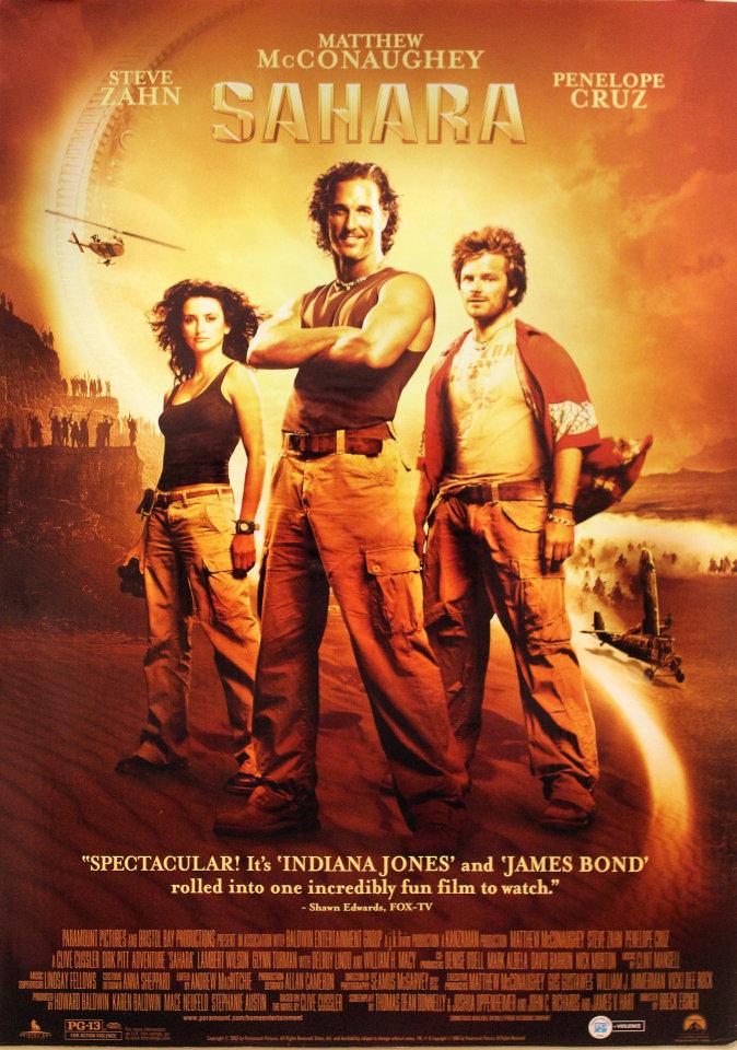Image result for sahara movie poster