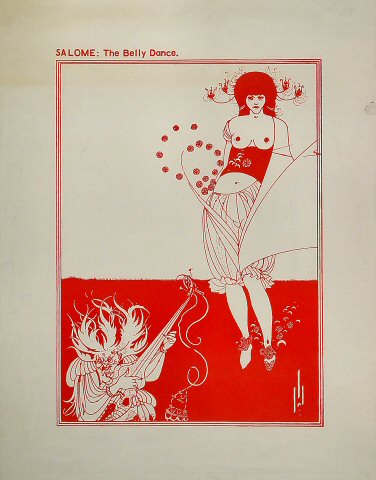 Salome: The Belly Dance Poster